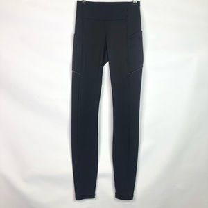 Lululemon Speed Up Black Leggings Size: 2